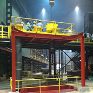 CIS specialty equipment off furnace projects